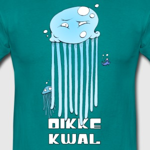Diva blue plump jellyfish T-Shirts - Men's T-Shirt