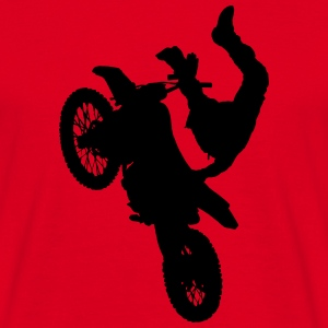 Motocross Stunt - Men's T-Shirt