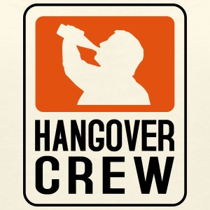 Hangover Crew T-Shirts - Women's V-Neck T-Shirt