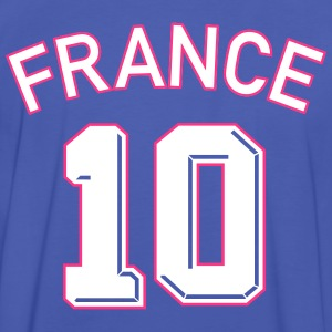 Maillot numéro 10 FRANCE  Tee shirts - T-shirt contraste Homme