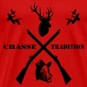 chasse - T-shirt Premium Homme