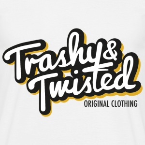 Trashy and Twisted logo T Shirt - Men's T-Shirt