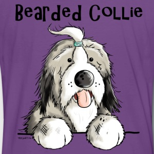 Sweet Bearded Collie T-Shirts - Men's Premium T-Shirt