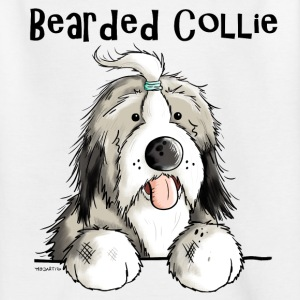 Zoete Bearded Collie Shirts - Teenager T-shirt