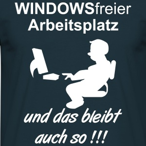 WindowsFree T-Shirts - Männer T-Shirt