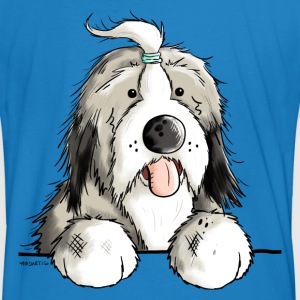 Happy Bearded Collie Tee shirts - T-shirt bio Homme