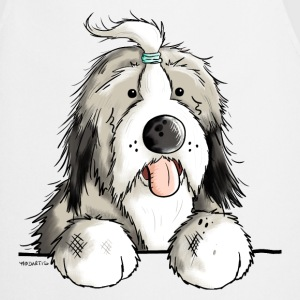 Happy Bearded Collie Tabliers - Tablier de cuisine