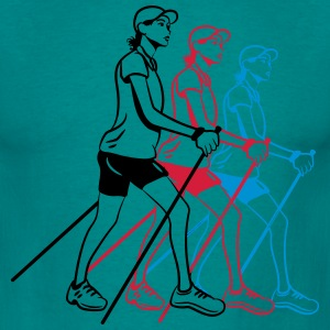 nordic walking kvinner T-skjorter - T-skjorte for menn