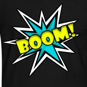 Comic Book Boom Tshirt  - Men's Ringer Shirt