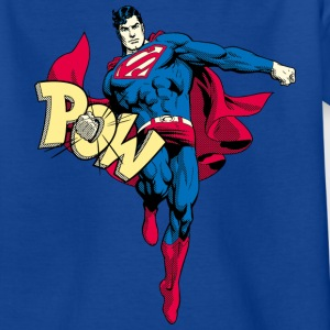 Superman 'Pow' Teenager T-Shirt - Teenager T-Shirt