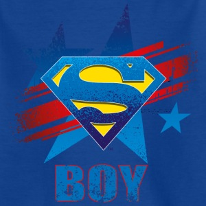 Superman S-Shield Dad Kid's T-Shirt - T-skjorte for barn