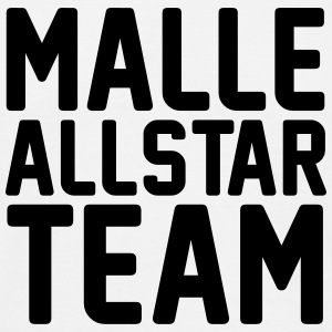 Malle Allstar Team White Edition - Männer T-Shirt