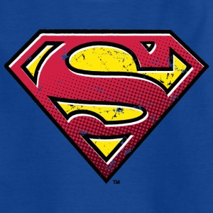 Superman Logo Teenager T-Shirt - T-skjorte for tenåringer