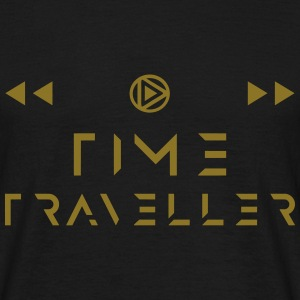 Time Traveller - Old Fashioned Style w. Icons  - Camiseta hombre