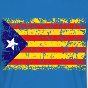 Catalonia Independence Flag - Camiseta hombre