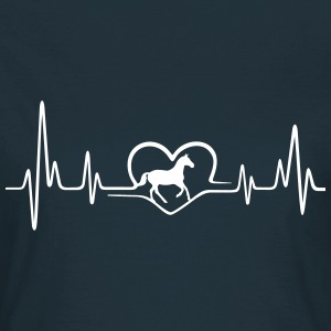 Heartbeat Pferd T-Shirts - Frauen T-Shirt