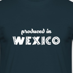 Wexico - White T-Shirts - Men's T-Shirt