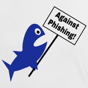 Against Phishing T-Shirts - Frauen Kontrast-T-Shirt