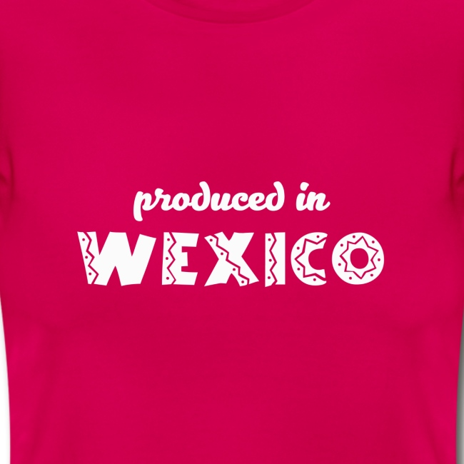 Produced in Wexico - Womens T-Shirt - Red
