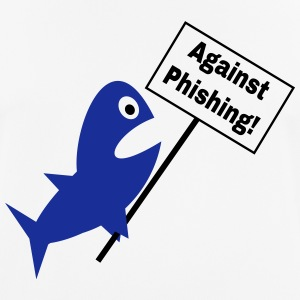 Against Phishing T-Shirts - Männer T-Shirt atmungsaktiv