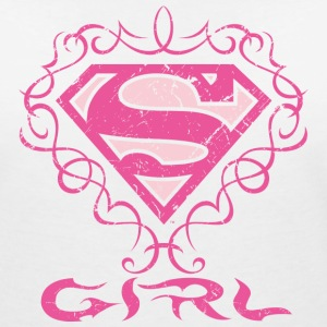 Superman 'S-Shield Girl' Women T-Shirt - Vrouwen T-shirt met V-hals