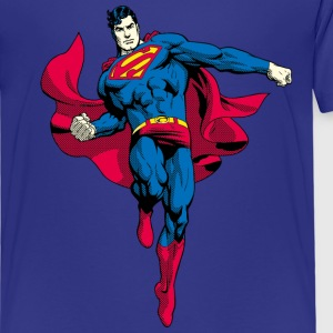 Superman Pose Kinder T-Shirt - Kinder Premium T-Shirt