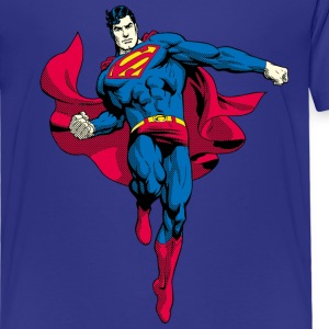 Superman Pose Kid's T-Shirt - Premium T-skjorte for barn