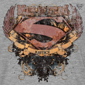 Superman S-Shield Man of Steel Männer Langarmshir - Männer Premium Langarmshirt