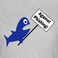 """Nerd T-Shirts mit """"Against Phishing"""""""