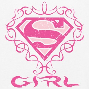 Superman S-Shield Girl Kinder Langarmshirt - Kinder Premium Langarmshirt