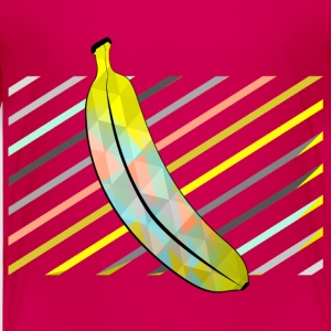 Dark pink Stylish Pixel Bananas Shirts - Kids' Premium T-Shirt