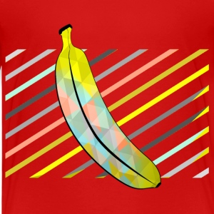 Red Stylish Pixel Bananas Shirts - Kids' Premium T-Shirt