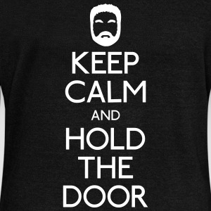Keep Calm hold the door Pullover & Hoodies - Frauen Pullover mit U-Boot-Ausschnitt von Bella