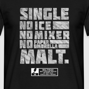 spassprediger.de presents: Single Malt, marble T-Shirts - Männer T-Shirt