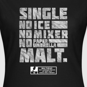 spassprediger.de presents: Single Malt, marble T-Shirts - Frauen T-Shirt