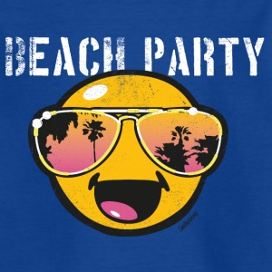 Smiley World Beachparty Kinder T-Shirt - Kinder T-Shirt