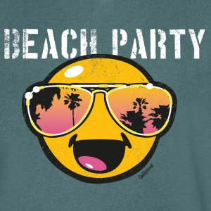 SmileyWorld 'Beachparty' men t-shirt - Camiseta de pico hombre