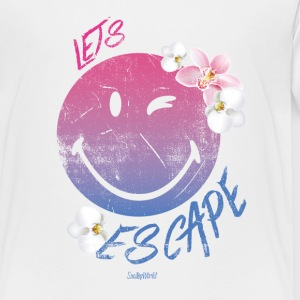 SmileyWorld 'Let's Escape' teenager t-shirt - Teenager premium T-shirt