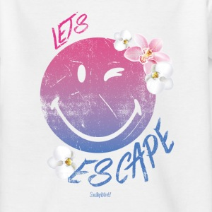 SmileyWorld 'Let's Escape' teenager t-shirt - T-shirt tonåring