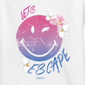 SmileyWorld 'Let's Escape' Ado Tee Shirt - Tee shirt Ado