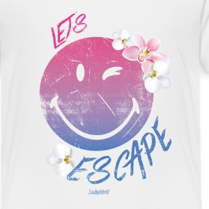 Smiley World Lets Escape Kinder T-Shirt - Kinder Premium T-Shirt