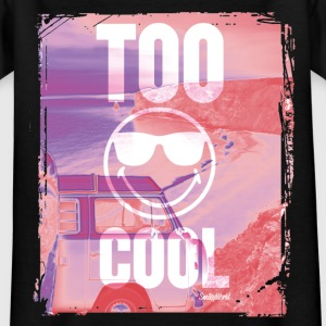 SmileyWorld 'Too Cool' teenager t-shirt - T-shirt tonåring