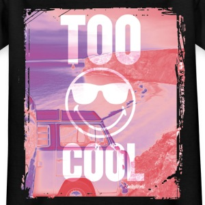 SmileyWorld 'Too Cool' teenager t-shirt - Teenage T-shirt