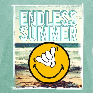 SmileyWorld 'Endless Summer' women t-shirt - Camiseta con manga enrollada mujer