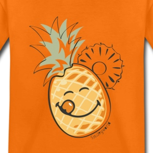 Smiley World Juicy Pinapple Kinder T-Shirt - Kinder Premium T-Shirt