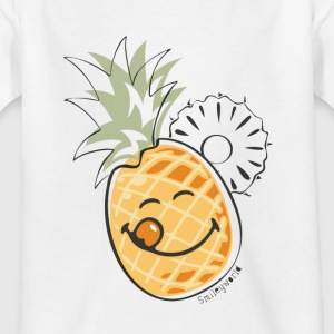 SmileyWorld 'Juicy Pineapple' teenager t-shirt - T-shirt tonåring