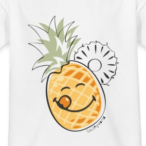 SmileyWorld 'Juicy Pineapple' teenager t-shirt - Maglietta per ragazzi