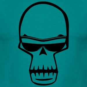 Skull stylized sunglasses T-Shirts - Men's T-Shirt