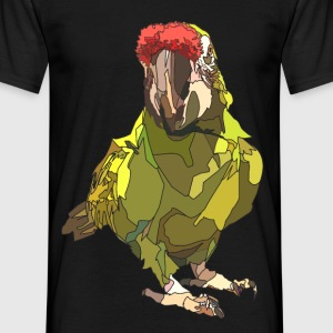 Wilma the parrot wants a cracker - Men's T-Shirt