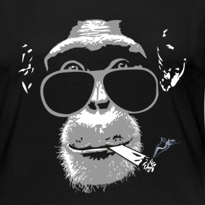 Chimpanzee with joint   Manches longues - T-shirt manches longues Premium Femme
